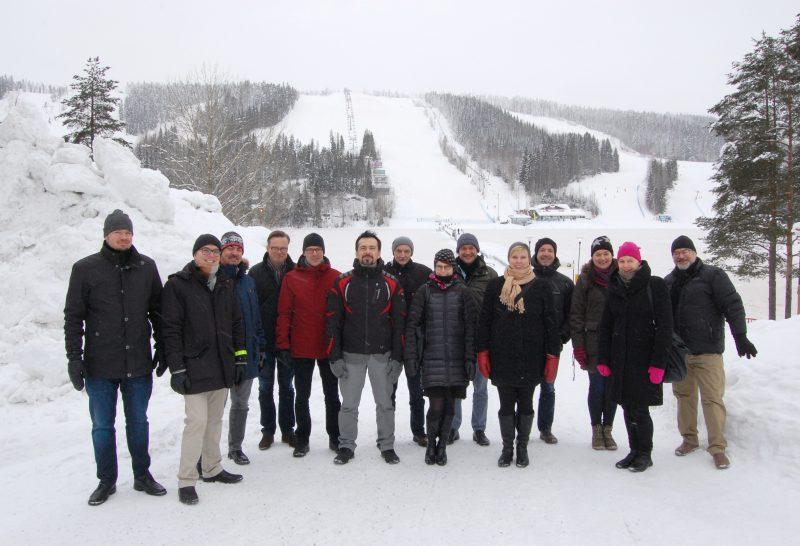 Group photo in Tahko meeting